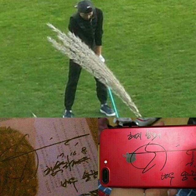 Sắp làm chú rể, Song Joong Ki tranh thủ tận hưởng thời gian độc thân sắp hết để đi đánh golf - Ảnh 1.