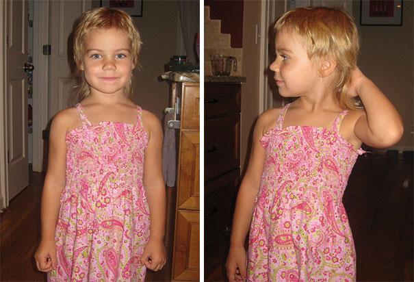 Nếu còn nghi ngờ khả năng tạo mẫu tóc của các bé thì cha mẹ hãy xem ngay bộ ảnh này - Ảnh 5.