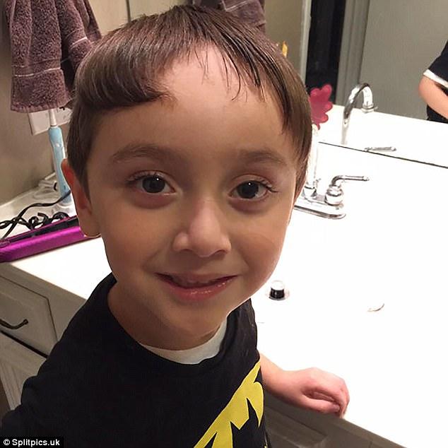 Nếu còn nghi ngờ khả năng tạo mẫu tóc của các bé thì cha mẹ hãy xem ngay bộ ảnh này - Ảnh 12.
