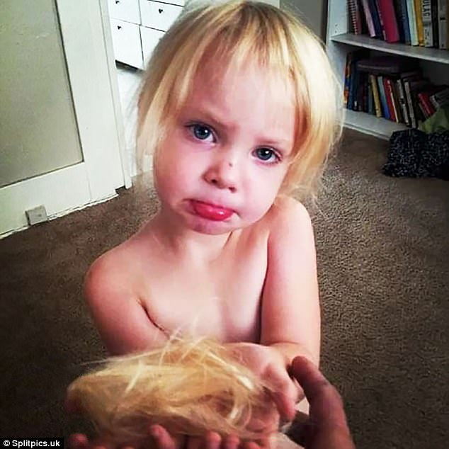 Nếu còn nghi ngờ khả năng tạo mẫu tóc của các bé thì cha mẹ hãy xem ngay bộ ảnh này - Ảnh 13.