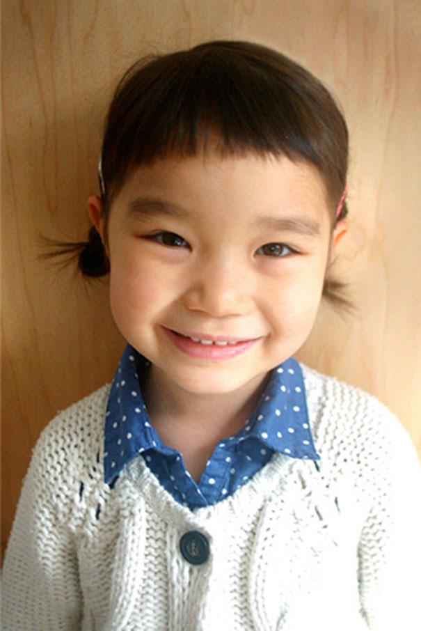 Nếu còn nghi ngờ khả năng tạo mẫu tóc của các bé thì cha mẹ hãy xem ngay bộ ảnh này - Ảnh 14.