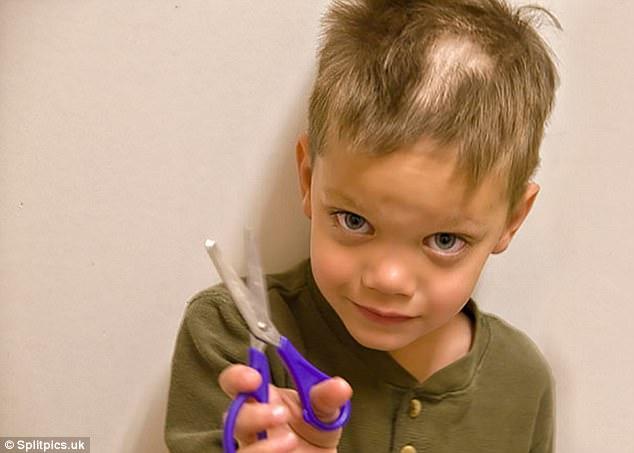 Nếu còn nghi ngờ khả năng tạo mẫu tóc của các bé thì cha mẹ hãy xem ngay bộ ảnh này - Ảnh 16.