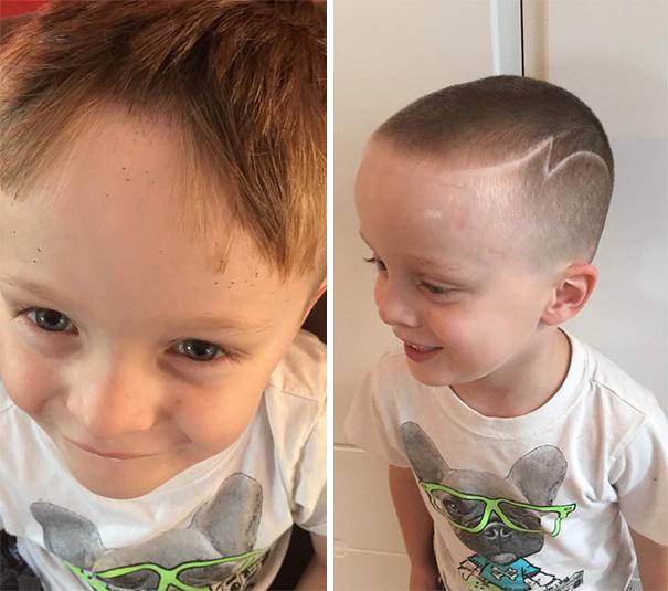 Nếu còn nghi ngờ khả năng tạo mẫu tóc của các bé thì cha mẹ hãy xem ngay bộ ảnh này - Ảnh 23.