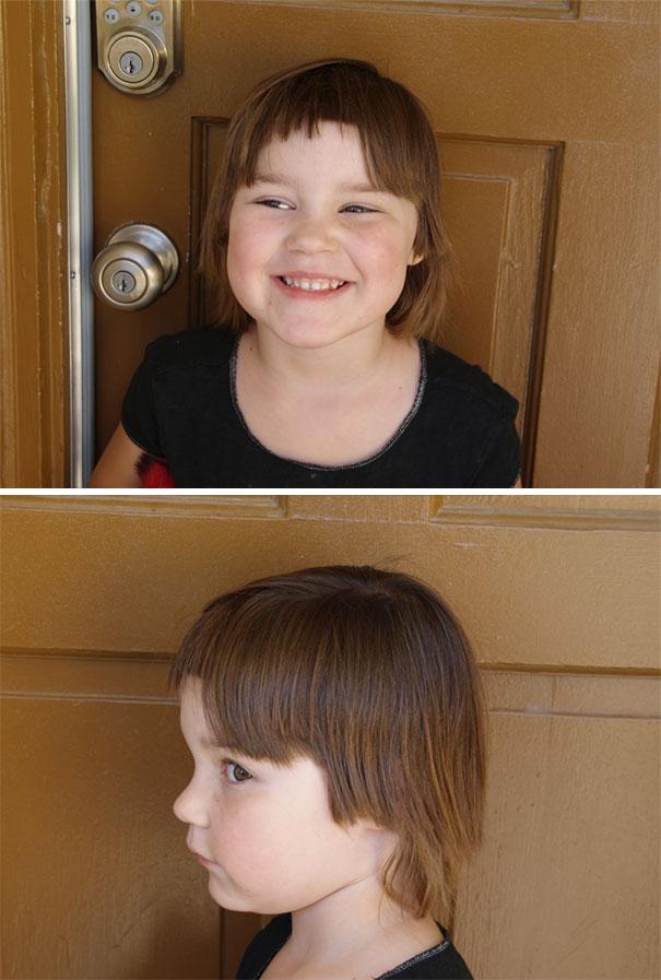 Nếu còn nghi ngờ khả năng tạo mẫu tóc của các bé thì cha mẹ hãy xem ngay bộ ảnh này - Ảnh 24.