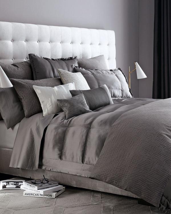 Những không gian phòng ngủ đẹp quyến rũ không thể không yêu khi được trang trí với màu xám  - Ảnh 5.