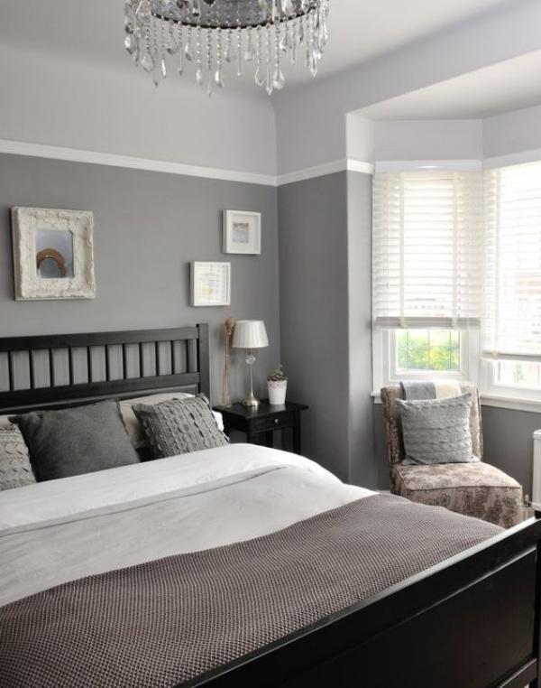 Những không gian phòng ngủ đẹp quyến rũ không thể không yêu khi được trang trí với màu xám  - Ảnh 12.