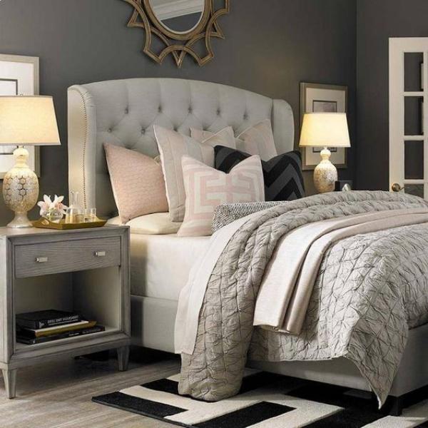 Những không gian phòng ngủ đẹp quyến rũ không thể không yêu khi được trang trí với màu xám  - Ảnh 13.