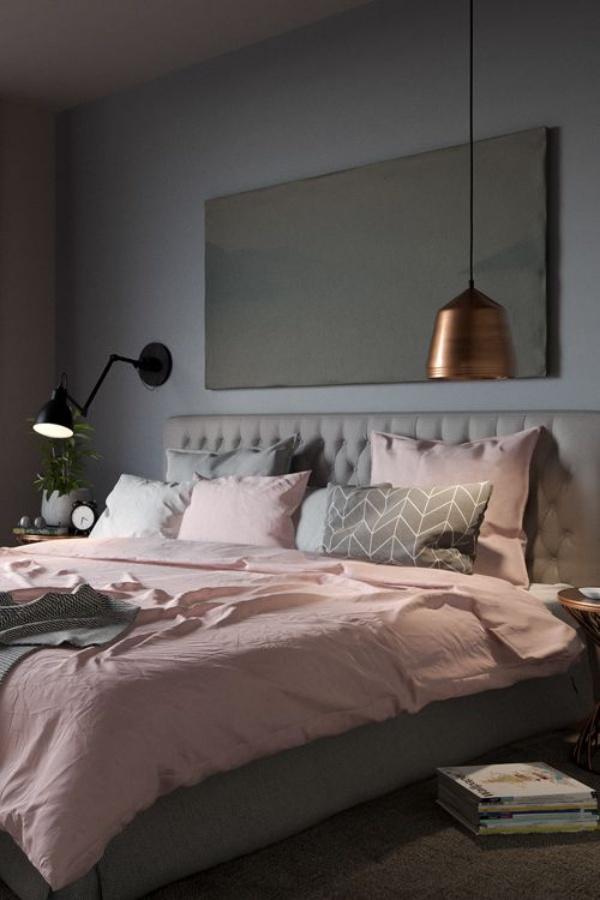 Những không gian phòng ngủ đẹp quyến rũ với gam màu xám không thể không yêu  - Ảnh 4.