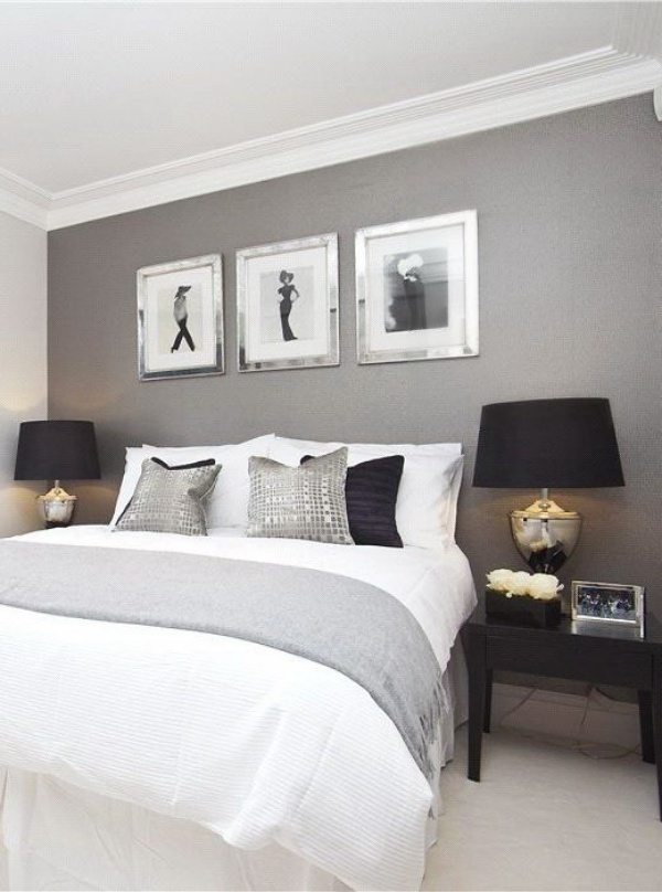 Những không gian phòng ngủ đẹp quyến rũ với gam màu xám không thể không yêu  - Ảnh 13.