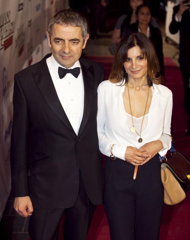 """Sao """"Mr Bean"""" và bồ trẻ đáng tuổi con gái chuẩn bị đón con chung  - Ảnh 2."""