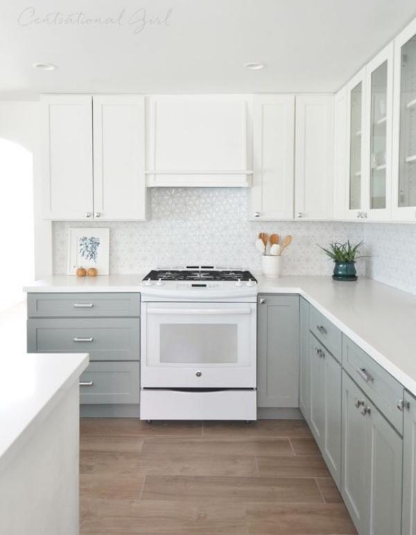 Xu hướng thiết kế hai tông màu cho căn bếp được triệu người ưa chuộng - Ảnh 2.