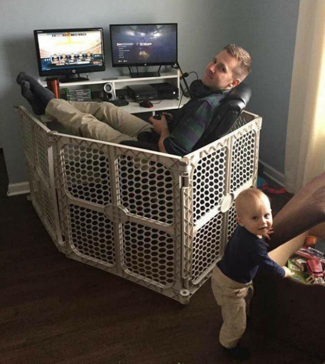 Đây là lý do vì sao những đứa trẻ luôn thích thú mỗi khi được bố trông - Ảnh 10.
