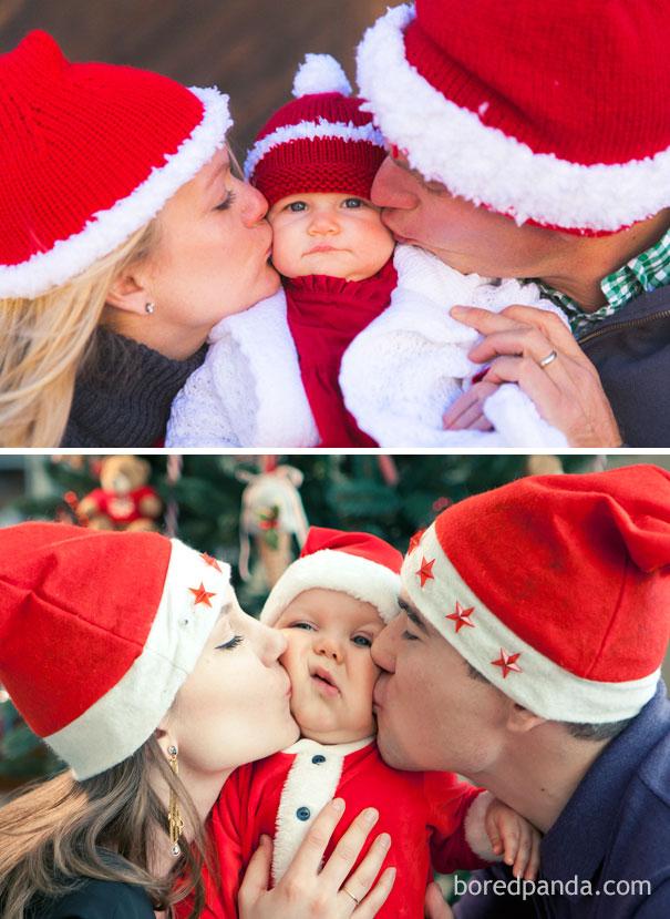 """Những khoảnh khắc """"cười ra nước mắt""""  vì không phải bé nào cũng thích Noel như cha mẹ vẫn nghĩ - Ảnh 18."""