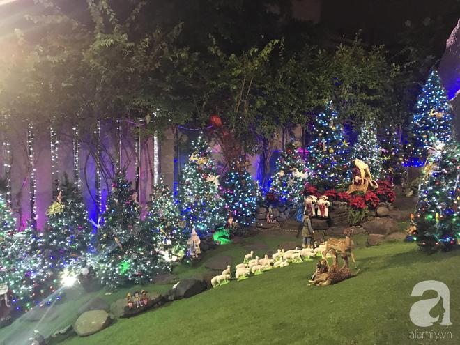 Ngắm biệt thự triệu đô của Đàm Vĩnh Hưng được trang trí đẹp lung linh đón Noel về - Ảnh 9.