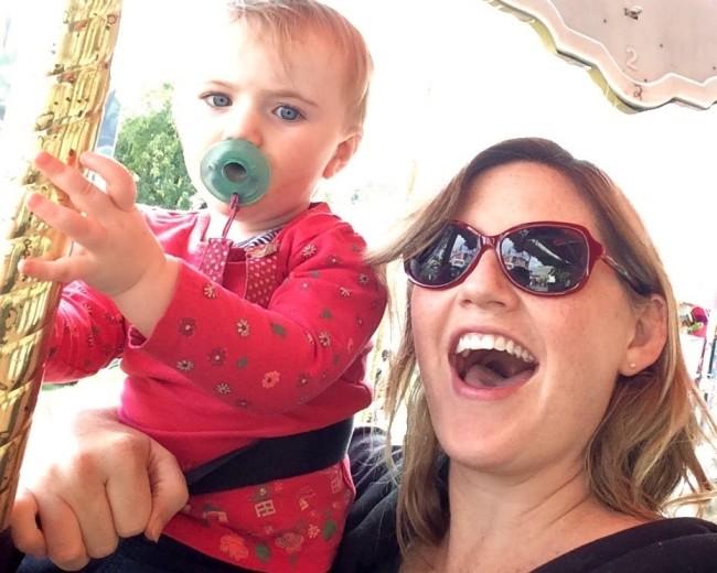 Tôi đã lo đến phát khóc sau khi con gái nhảy lên bụng bầu 5 tháng - Ảnh 2.