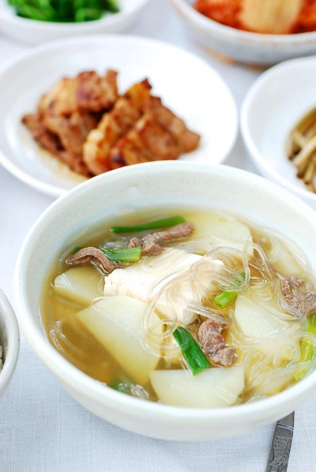 Canh khoai tây nấu kiểu Hàn chắc chắn sẽ khiến bạn thích mê - Ảnh 4.