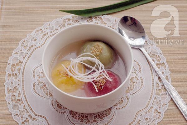 Có 10 công thức làm bánh trôi bánh chay ngon - đẹp - lạ này khỏi lo tết Hàn thực nhàm chán - Ảnh 5.