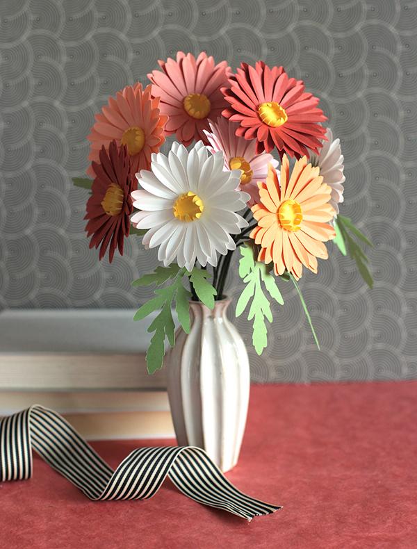2 cách làm hoa giấy đơn giản trang trí nhà đẹp xinh - Ảnh 7.