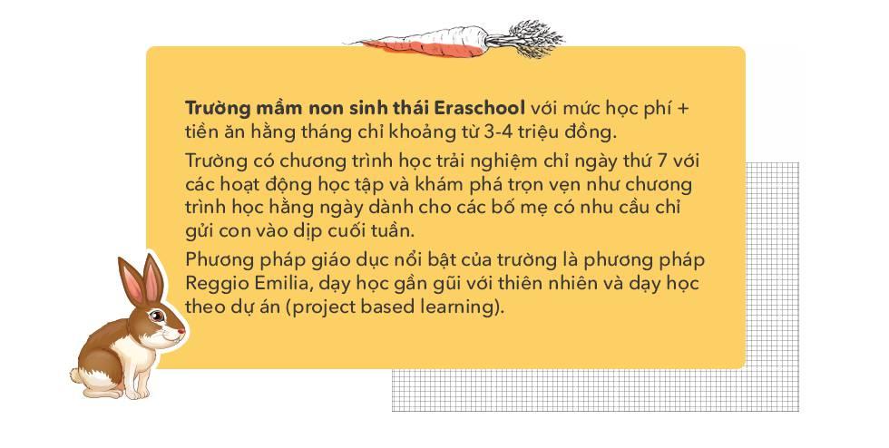 Ghé thăm trường mầm non sinh thái đầu tiên tại Hà Nội, nơi các con tự khám phá cuộc sống bằng tất cả giác quan - Ảnh 13.