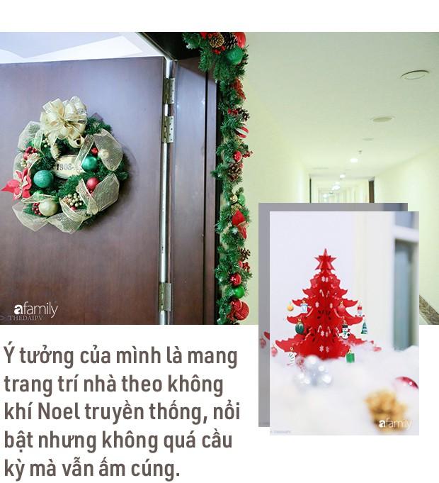 Hai căn hộ được trang trí đậm vị Giáng sinh với chi phí chỉ dưới 10 triệu đồng ở Hà Nội - Ảnh 4.