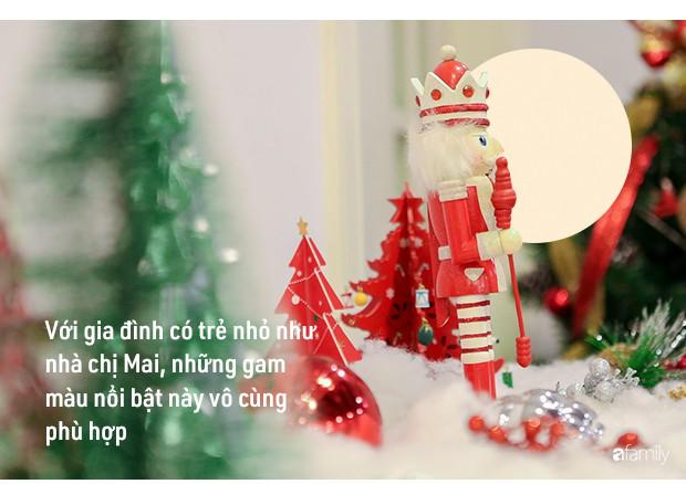 Hai căn hộ được trang trí đậm vị Giáng sinh với chi phí chỉ dưới 10 triệu đồng ở Hà Nội - Ảnh 6.