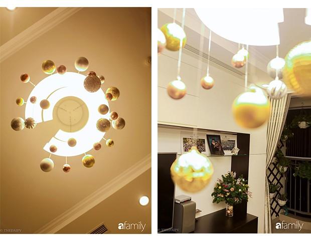 Hai căn hộ được trang trí đậm vị Giáng sinh với chi phí chỉ dưới 10 triệu đồng ở Hà Nội - Ảnh 16.