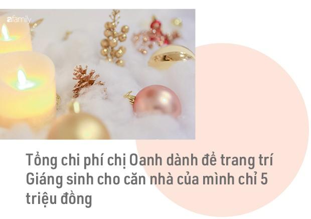 Hai căn hộ được trang trí đậm vị Giáng sinh với chi phí chỉ dưới 10 triệu đồng ở Hà Nội - Ảnh 18.