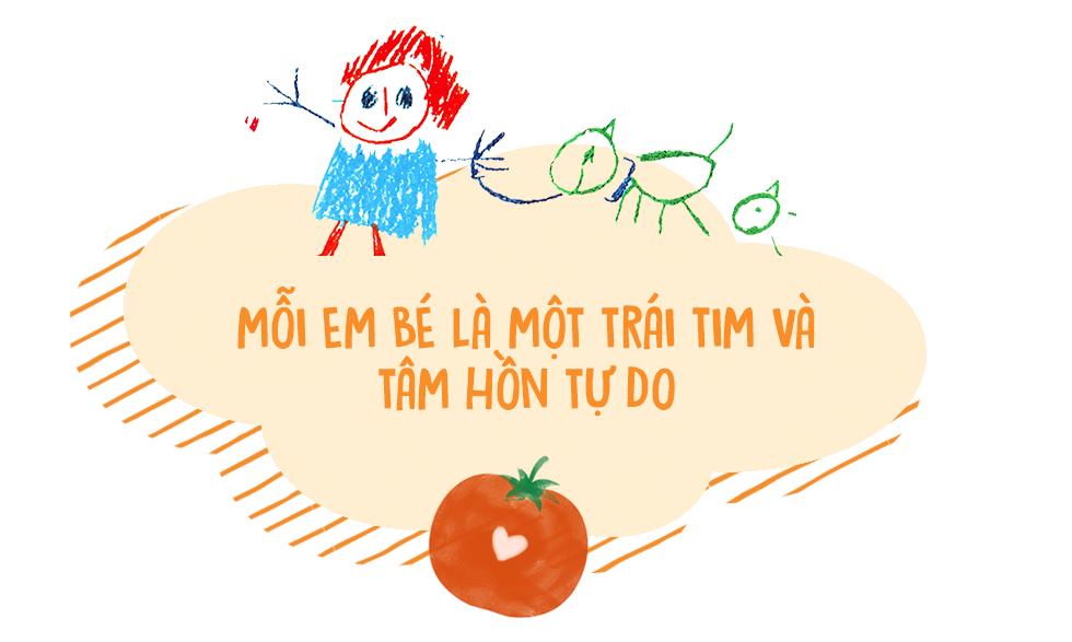 Trường mẫu giáo của con là một trái cà chua! - Ảnh 10.