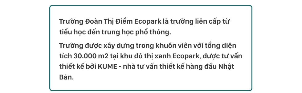 Đoàn Thị Điểm Ecopark: ngôi trường của những niềm vui xanh, nơi lũ trẻ được vui chơi trong bầu không khí mát lành - Ảnh 4.