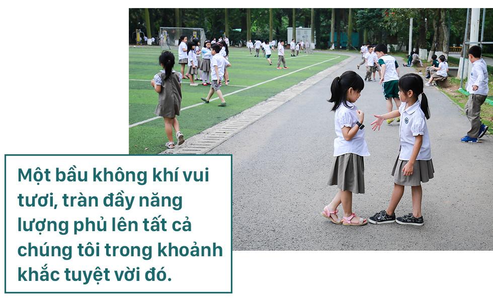 Đoàn Thị Điểm Ecopark: ngôi trường của những niềm vui xanh, nơi lũ trẻ được vui chơi trong bầu không khí mát lành - Ảnh 8.