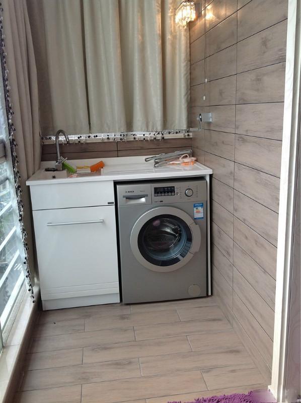 Ban công - vị trí vàng để bố trí máy giặt cho nhà chật - Ảnh 7.