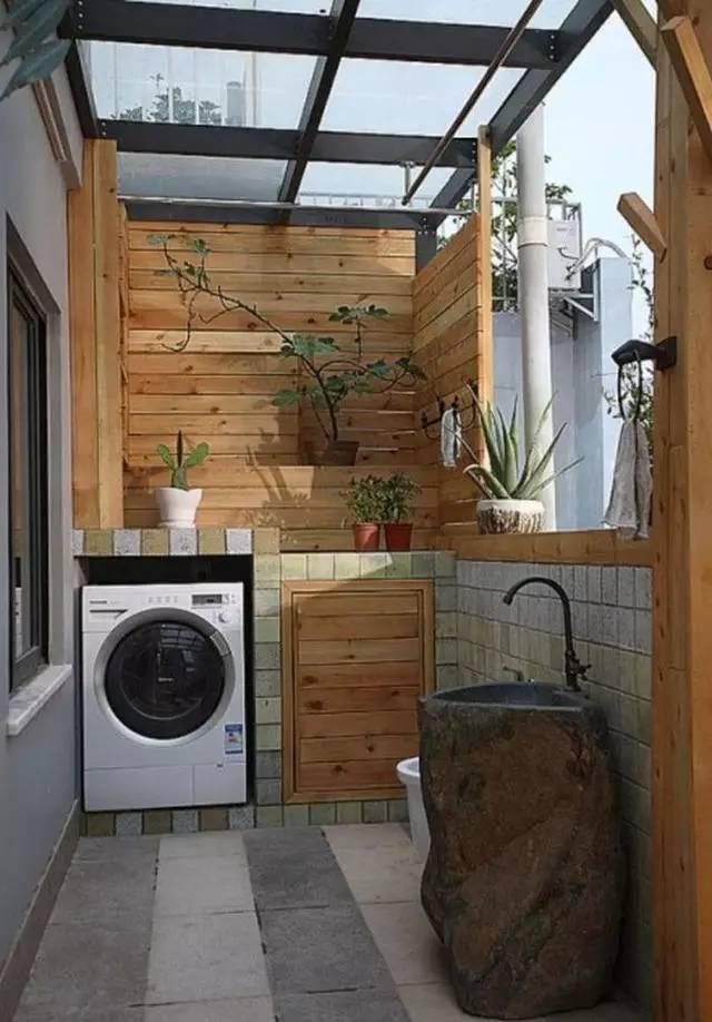 Ban công - vị trí vàng để bố trí máy giặt cho nhà chật - Ảnh 3.