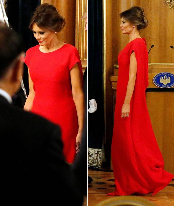 Phu nhân Melania Trump chịu chi hơn 1 tỷ cho váy áo trong chuyến công du 3 nước châu Á - Ảnh 12.