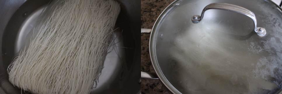 Chống ngán ngày tết với món mỳ trộn tôm bưởi - Ảnh 1