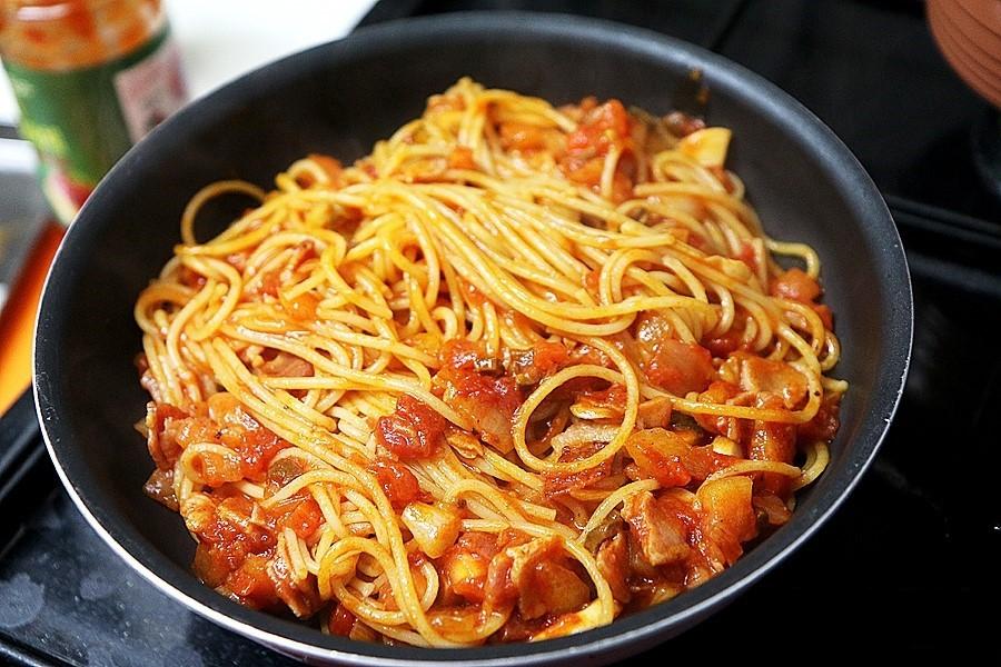 Cuối tuần đãi cả nhà món mì Ý phô mai ngon ngất ngây - Ảnh 5