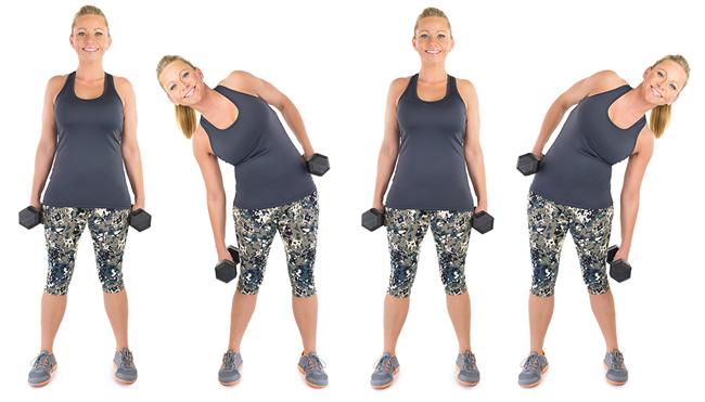 7 bài tập giúp bạn loại bỏ da chảy xệ sau lưng và hai bên thân rất hiệu quả - Ảnh 2.