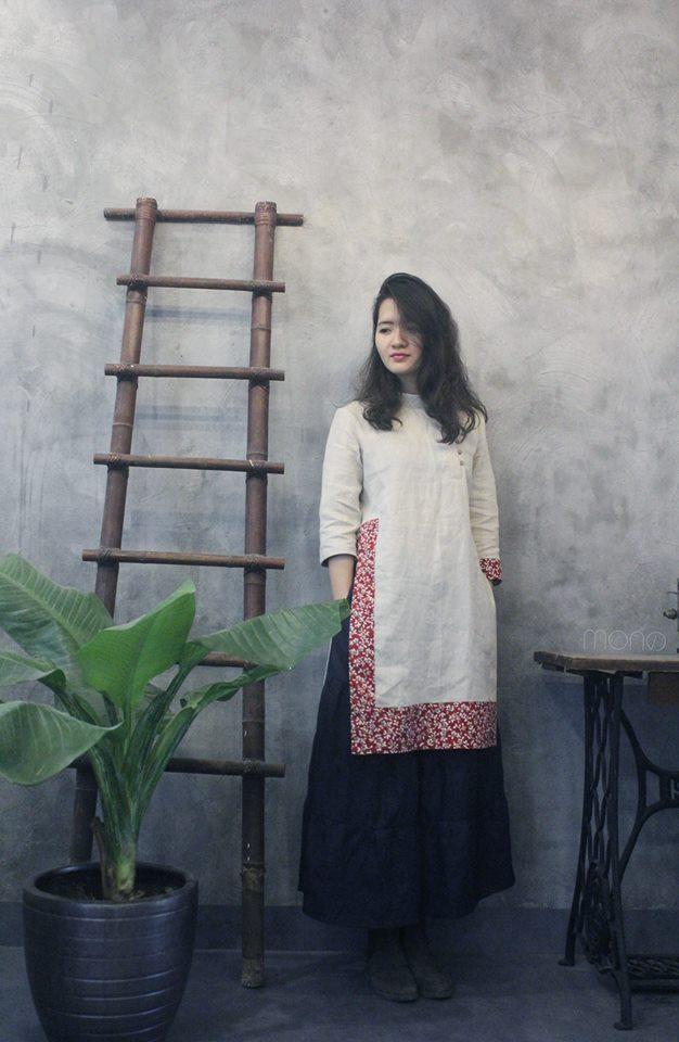 5 tiệm áo dài cách tân cực chất, giá dưới 1 triệu để đẹp cả Tết ở Hà Nội - Ảnh 12.