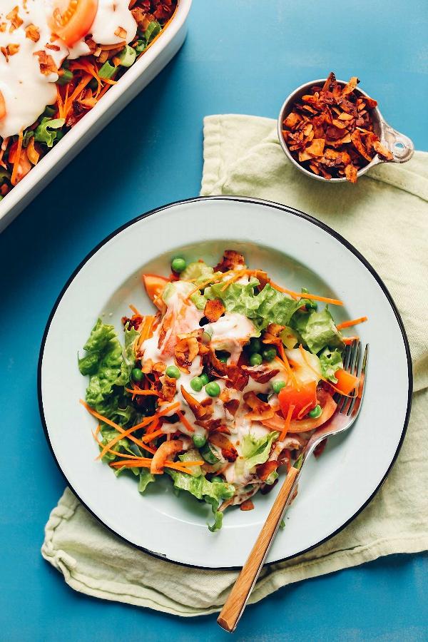 Salad 7 lớp ngon mắt ngon miệng mà không lo tăng cân - Ảnh 5.