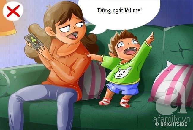6 hành vi sai của trẻ bắt nguồn từ chính cách dạy con của bố mẹ - Ảnh 1.