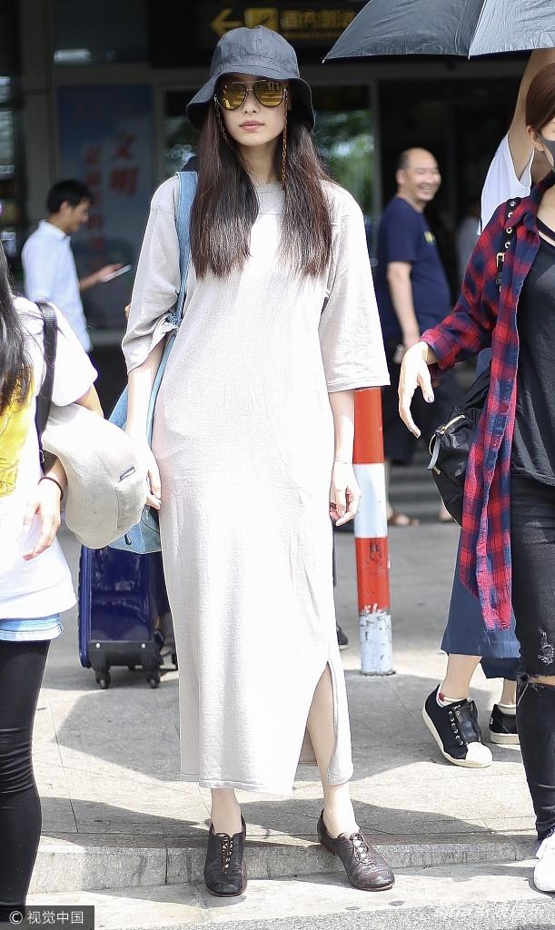 Nghê Ni khiến fan hoảng hốt khi diện đồ rộng như mang thai - Ảnh 2.