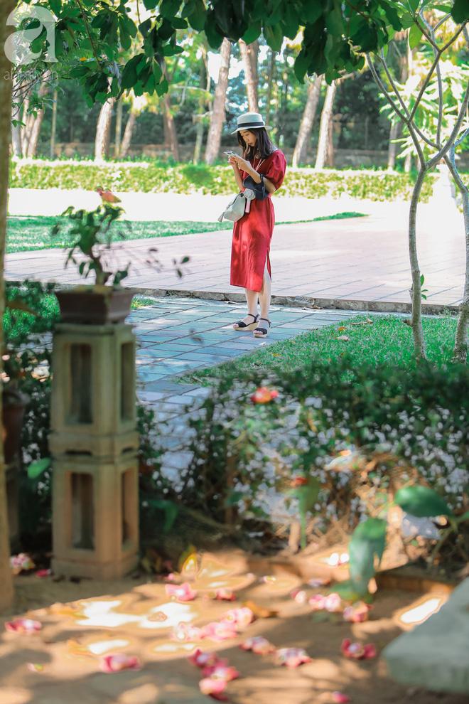 Ghé Huế, vào chùa Thiên Mụ 400 năm tuổi ngắm những đóa sala - hoa của sự yên lành - Ảnh 11.