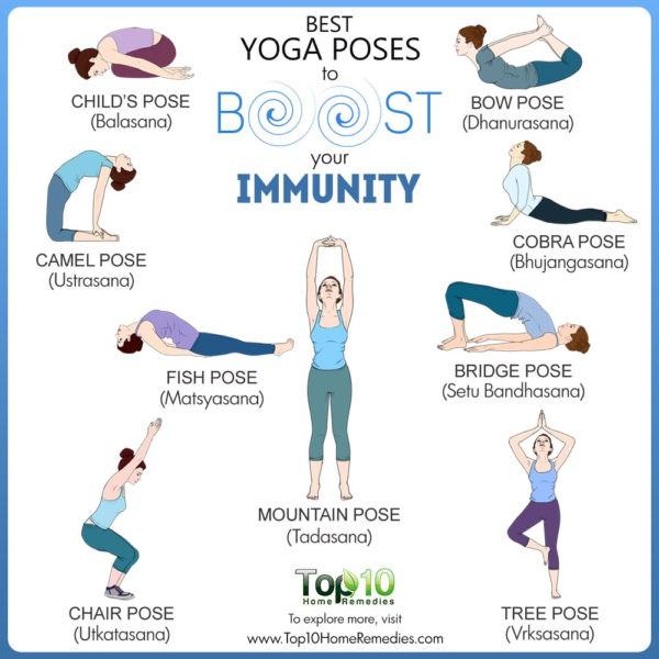 10 động tác yoga tốt nhất có thể tăng khả năng miễn dịch của bạn, phòng ngừa bệnh cúm - Ảnh 2.