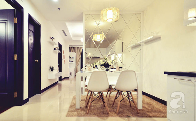 Căn hộ 93m² đơn giản nhưng vẫn đẹp hút hồn của vợ chồng trẻ ở Hà Nội - Ảnh 4.