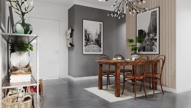 Chỉ sử dụng 2 màu trắng - xám nhưng căn hộ này chất đến độ chẳng chê được điểm nào - Ảnh 6.