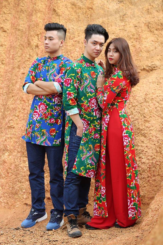 5 tiệm áo dài cách tân cực chất, giá dưới 1 triệu để đẹp cả Tết ở Hà Nội - Ảnh 1.