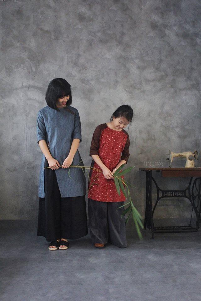 5 tiệm áo dài cách tân cực chất, giá dưới 1 triệu để đẹp cả Tết ở Hà Nội - Ảnh 13.