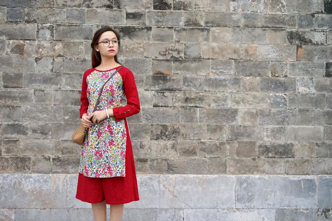 5 tiệm áo dài cách tân cực chất, giá dưới 1 triệu để đẹp cả Tết ở Hà Nội - Ảnh 8.