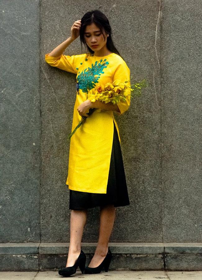 5 tiệm áo dài cách tân cực chất, giá dưới 1 triệu để đẹp cả Tết ở Hà Nội - Ảnh 16.
