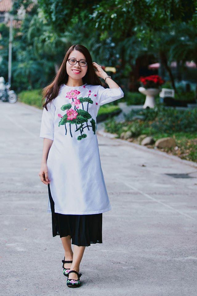 5 tiệm áo dài cách tân cực chất, giá dưới 1 triệu để đẹp cả Tết ở Hà Nội - Ảnh 15.
