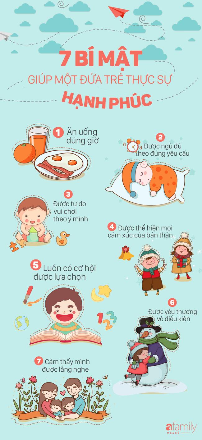 Đây là 7 điều đơn giản giúp một đứa trẻ lớn lên hạnh phúc nhưng nhiều bố mẹ chưa biết - Ảnh 2.